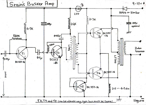 Draw A Circuit Diagram For Transistor Amplifier